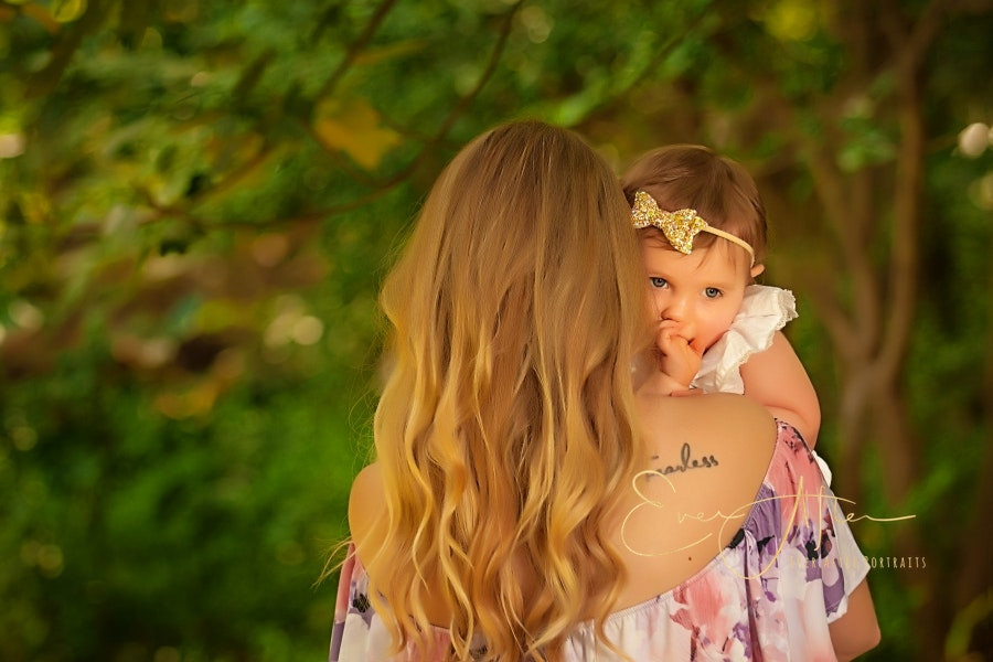 Mother Daughter Photography in West Springfield