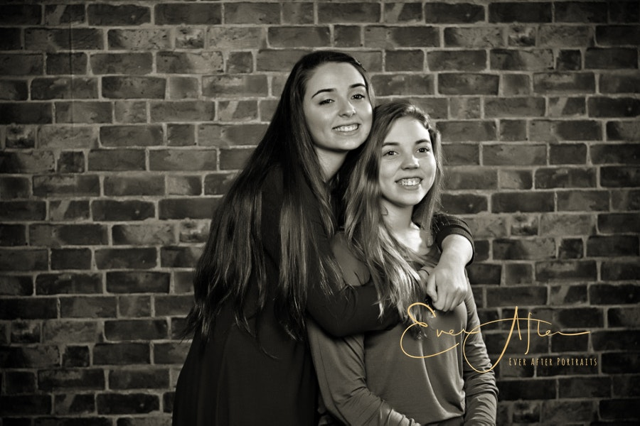 Sister Portraits in Silver Spring