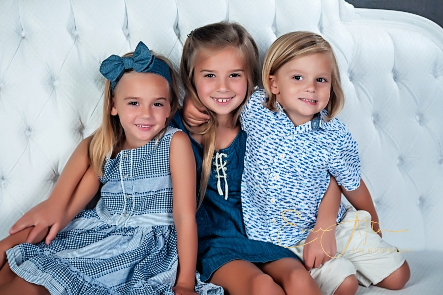 Sibling Fine art portraits in Silver Spring
